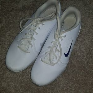 White Nike Cheer shoes
